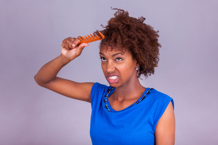 How to detangle black, African American or Biracial Hair